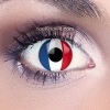 Eye Lenses 'French/Dutch Flag'
