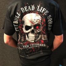 Pit Bull T-shirt 'Dead Life Squad'