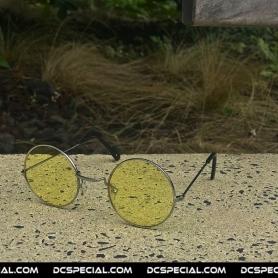 Gabber Old School Glasses 'Light Yellow'