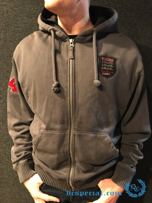 Thor Steinar Hooded Sweater 'Hemsdal Red'