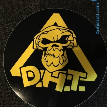 Danger Hardcore Team Sticker 'DHT'