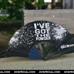 Ive Got The Powder Waaier 'Powder Black'