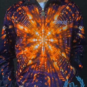 100% Hardcore Training Jacket 'Fusion Core Orange'