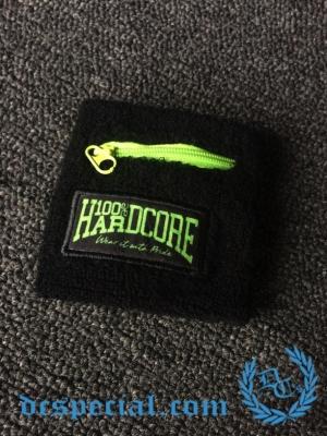 100% Hardcore Polsband 'Wear It With Pride Neon Green'