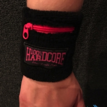 100% Hardcore Polsband 'Wear It With Pride'