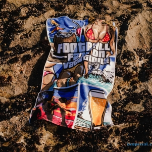 Beach towel 'Vacations'