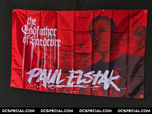 Paul Elstak Vlag 'The Godfather Of Hardcore'
