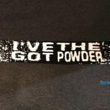 Ive Got The Powder Sjaal 'Powder'
