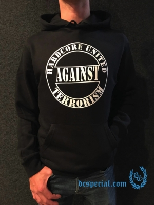 Hardcore United Against Terrorism Hooded Sweater 'Against Terrorism'