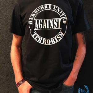 Hardcore United Against Terrorism T-shirt 'Against Terrorism'