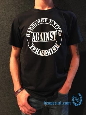 Hardcore United Against Terrorism T-shirt 'Against Terrorism'