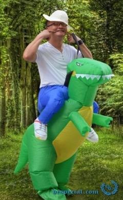 Green Dinosaur T-Rex