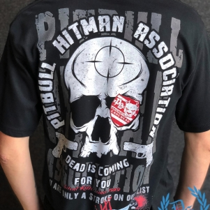 Pit Bull T-shirt 'Hitman Association'