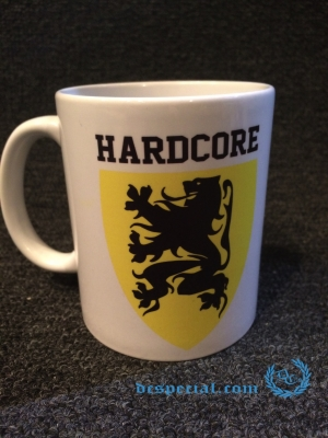 Hardcore Vlaanderen Tas 'Lion Shield'
