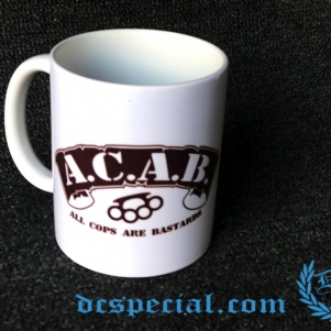 ACAB Coffeecup 'Knuckle'