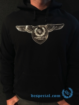 Dc's Special Hooded Sweater 'Gun Wings'