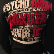 Yakuza Sweater 'Psycho Army'