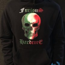 Spacetrip Hooded Sweater 'Furious Hardcore'