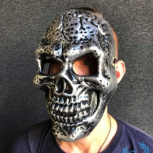 Mask 'Skull Silver'