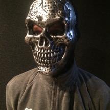 Masker 'Skull Silver'