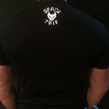 Spacetrip T-shirt 'Hardcore Italia'
