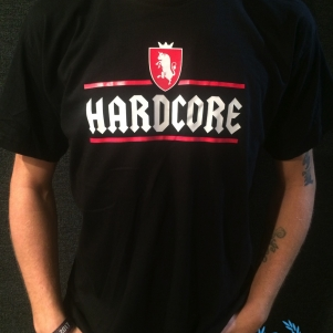 Hardcore T-shirt 'Hardcore Jupiler'