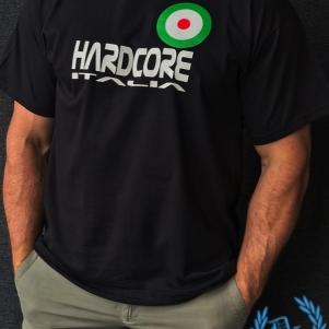 Hakken T-shirt 'Italian Bullseye'