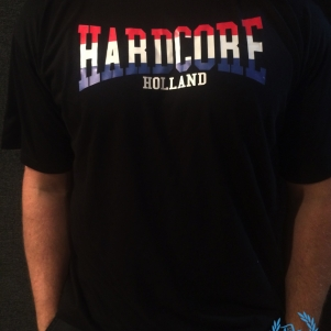 Hardcore T-shirt 'Hardcore Holland'