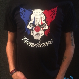 Hakken T-shirt 'Frenchcore Clown'