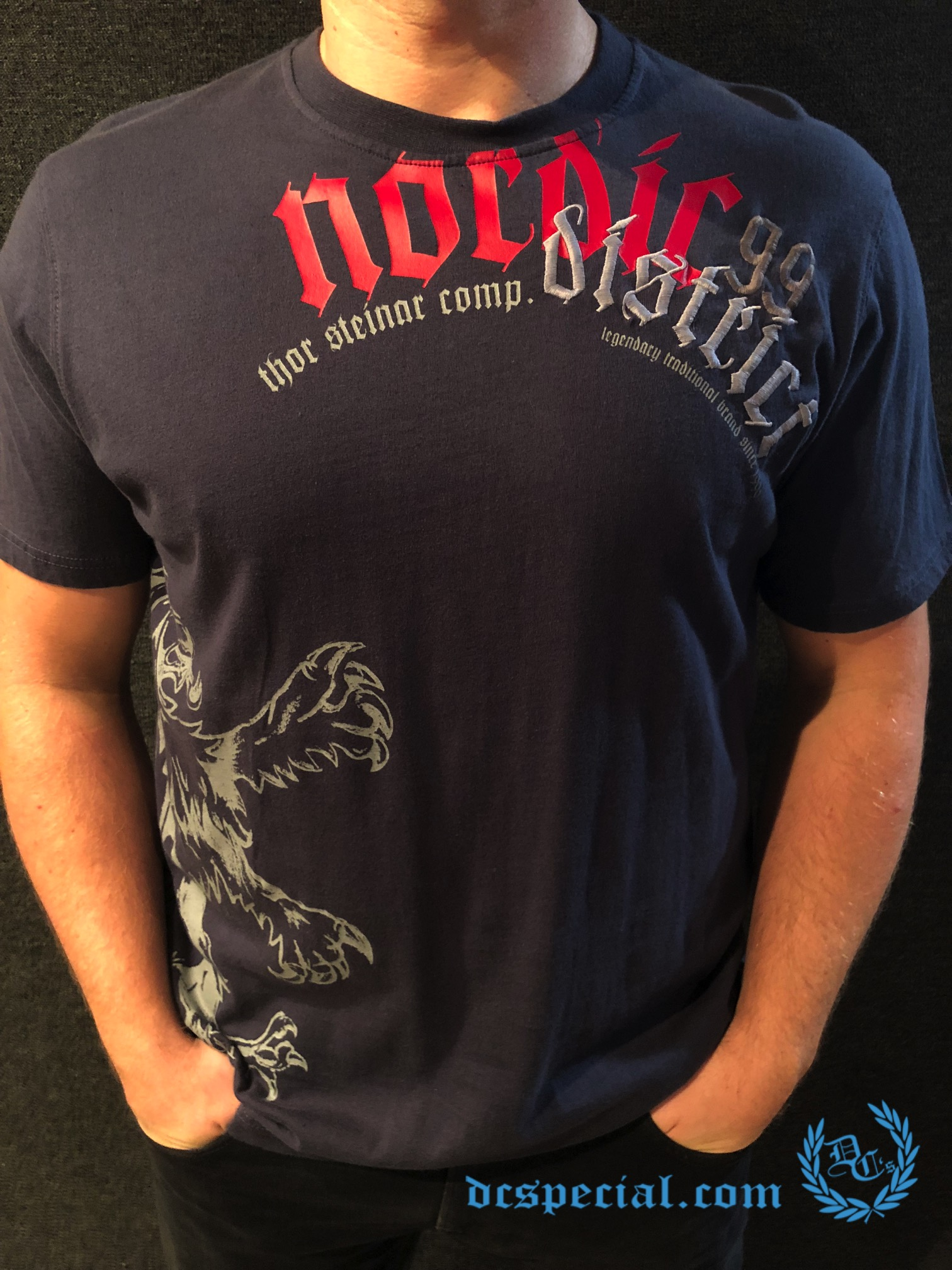 Thor Steinar T-shirt 'Nordic District'