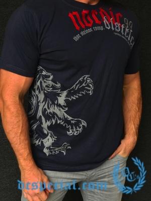 Thor Steinar T-shirt 'Nordic District'