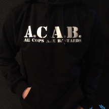 ACAB Hooded Sweater 'Basic Black'