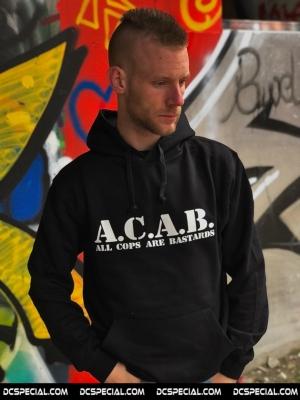 ACAB Hooded Sweater 'Basic Black'