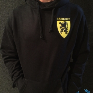 Hardcore Vlaanderen Hooded Sweater 'Shield'