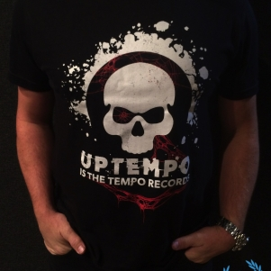 Uptempo Is The Tempo T-shirt 'Uptempo Records'