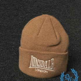 Lonsdale Beanie 'Brown'