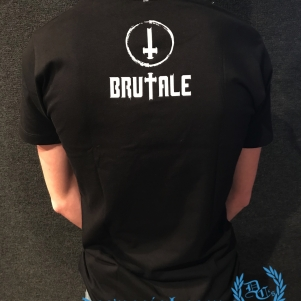 Brutale T-shirt 'Cross'