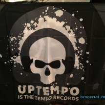 Uptempo Is The Tempo Vlag 'Uptempo Records'