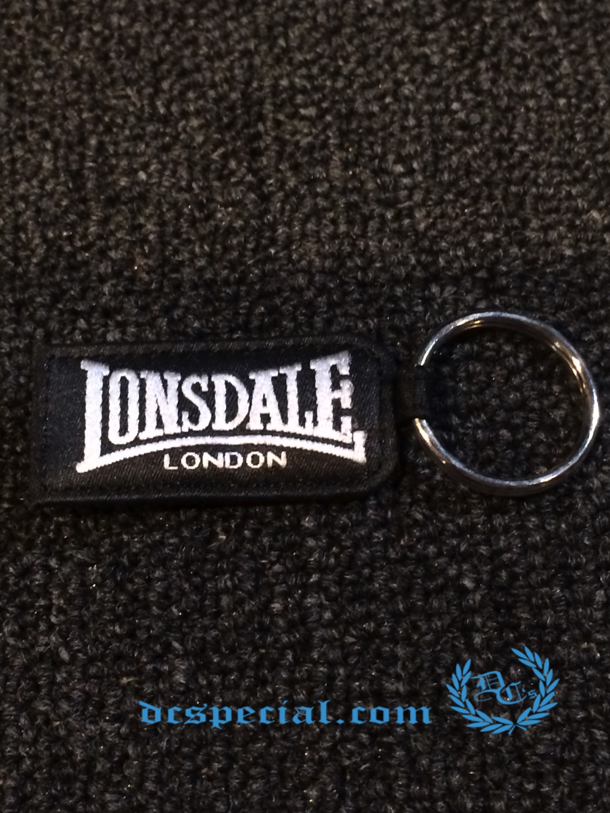 Lonsdale Keychane 'Silver Lion'