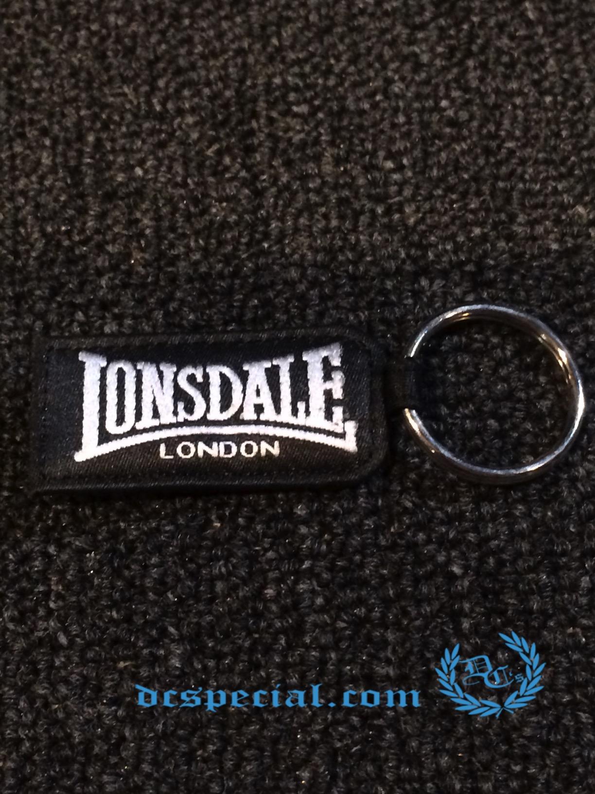 Lonsdale Sleutelhanger 'Silver Lion'
