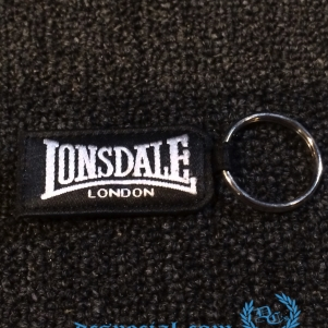 Lonsdale Sleutelhanger 'Silver Lion'