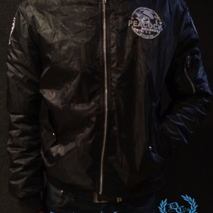 Dr. Peacock Bomber Jacket 'Peacock Records'