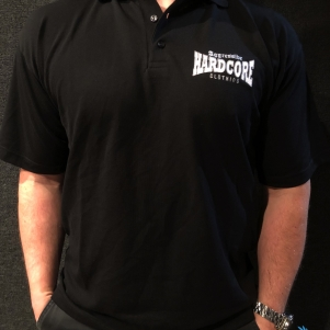Aggressive Hardcore Clothing Polo 'Aggressive Black'