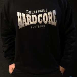 Aggressive Hardcore Sweater 'Aggressive Clothing Black'
