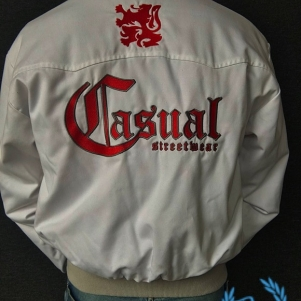Casual Harrington Jacket 'Casual Lion'