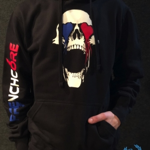 Hakken Hooded Sweater 'French Bleeding Eyes'