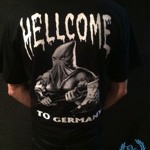 Gangland T-shirt 'Hellcome'