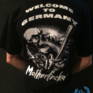 Gangland T-shirt 'Welcome Motherfuckers'