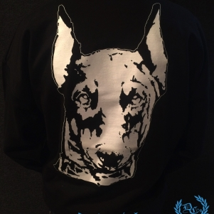 Doberman Sweater 'Doberman Head'