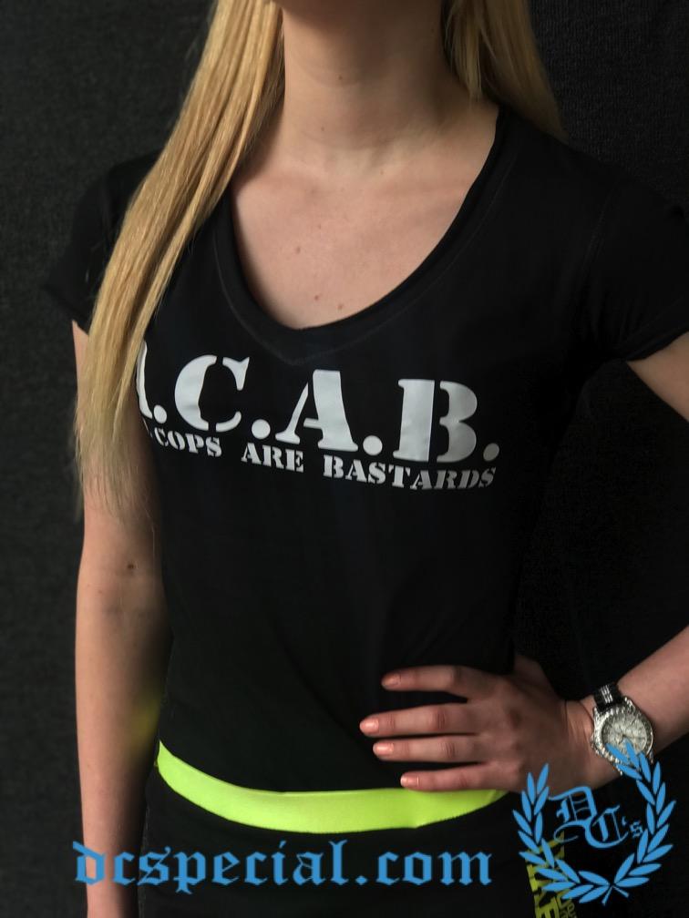ACAB Women T-shirt 'All Cops Are Bastards'